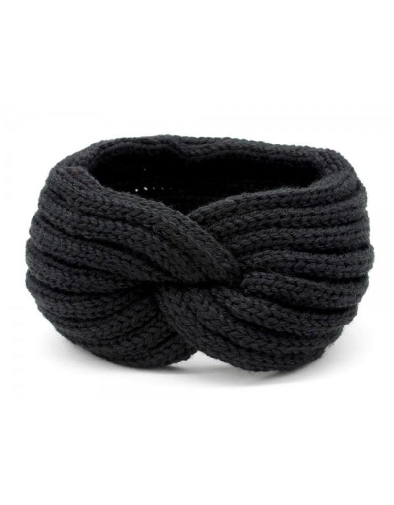 Overige zwarte haarband / oorwarmers