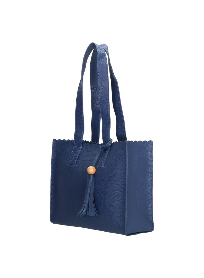 Charm London  dames schoudertas, blauw