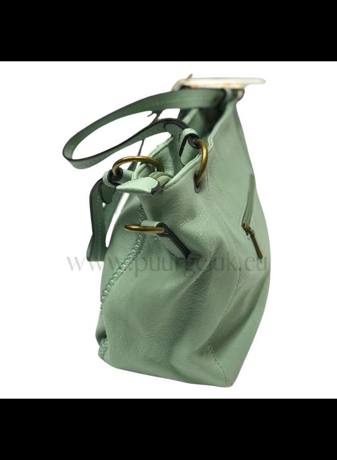Mandoline tas / schoudertas dames, groen