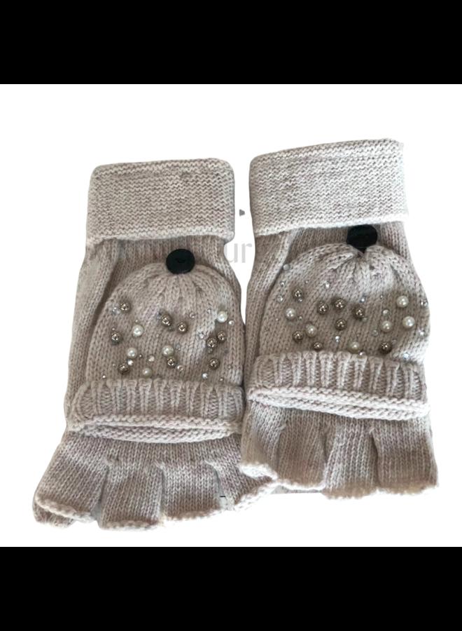 Handschoenen dames, vingerloos