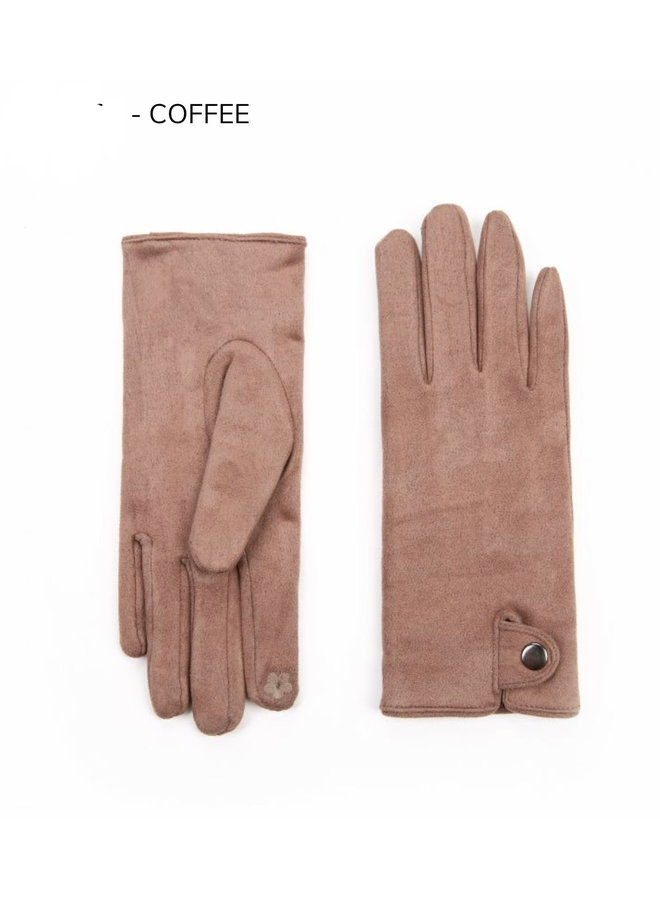 Handschoenen dames, taupe