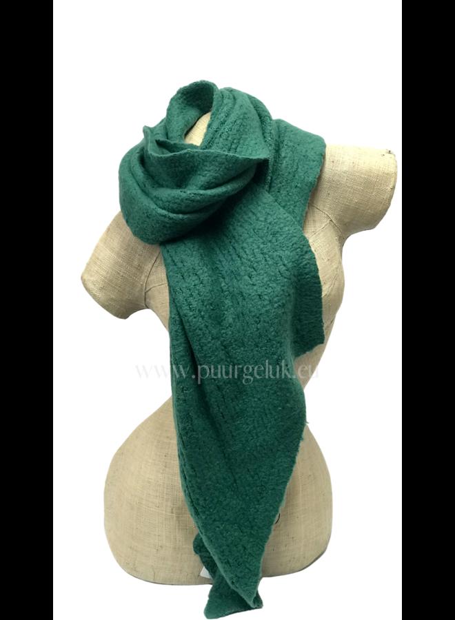 Damessjaal groen