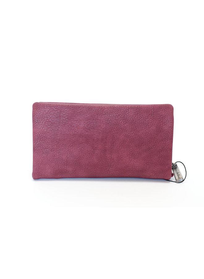 Mandoline dames portemonnee, bordeaux rood