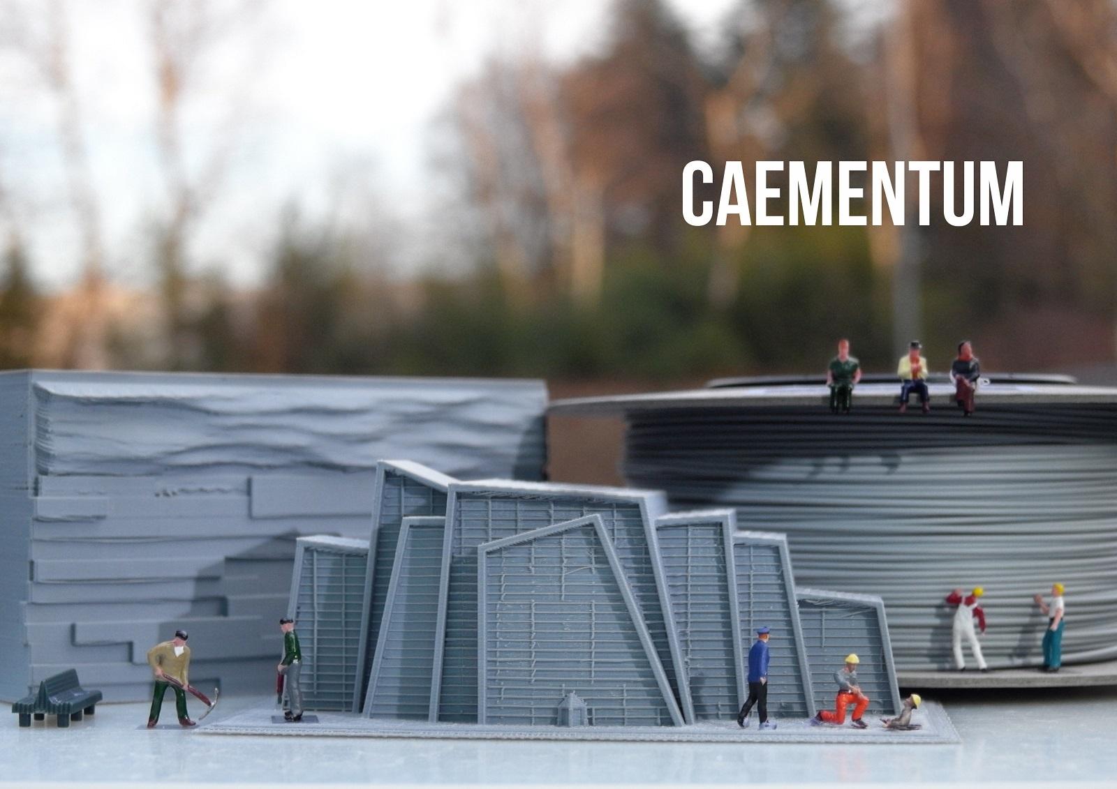 TreeD Filaments  Caementum