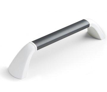 SecuCare Wandbeugel - zwart/grijs & mat wit