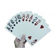 Speelkaarten groot formaat