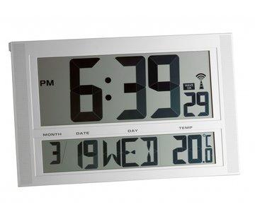 Radiografische klok met temperatuur XXL
