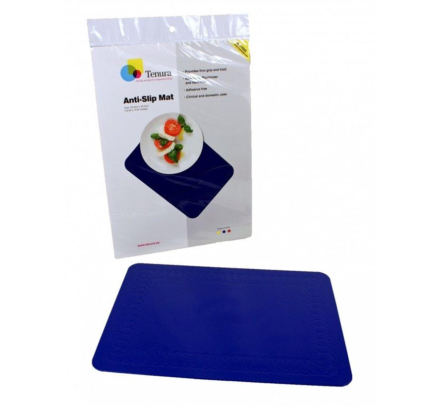 Antislip mat rechthoekig 35,5 x 25,5 cm