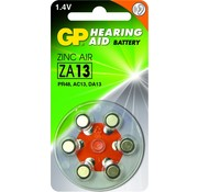 GP Hoorapparaat batterijen ZA13