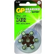 GP Hoorapparaat batterijen ZA312