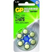 GP Hoorapparaat batterijen ZA675
