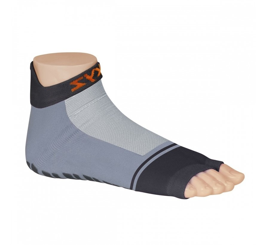 Antislip sokken Basic grijs