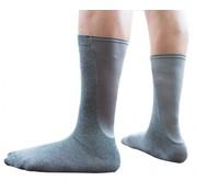 Xpandasox Kuit sokken effen donkergrijs