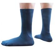 Xpandasox Kuit sokken effen navy blauw