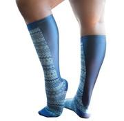 Xpandasox Sokken Fairisle blauw