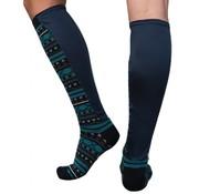 Xpandasox Sokken figuren navy blauw