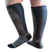 Xpandasox Sokken figuren zwart