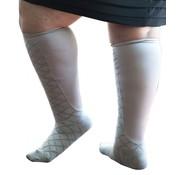 Xpandasox Sokken ruit grijs