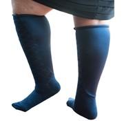 Xpandasox Sokken ruit navy blauw
