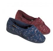 Dunlop Pantoffels dames BlueBell burgundy