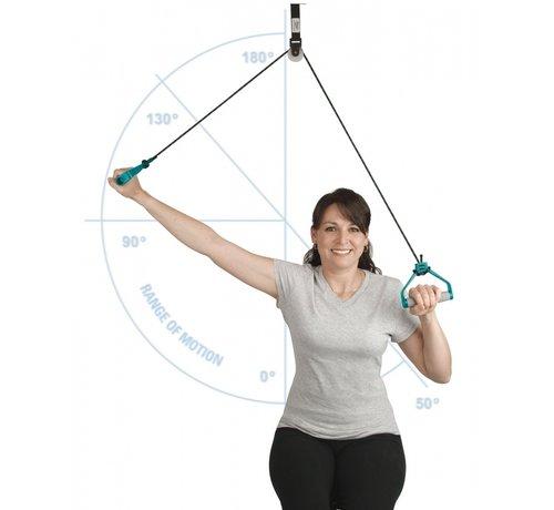 Armtrainer deurmontage touw