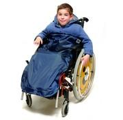 Poncho Wheely Cosy kinderen 7 - 10 jaar fleece