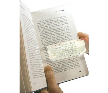 Ultra Optix Vergrootblad boekenlegger