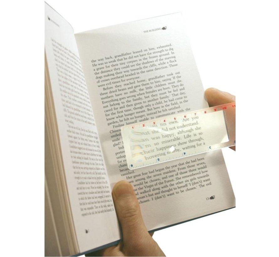 Vergrootblad boekenlegger