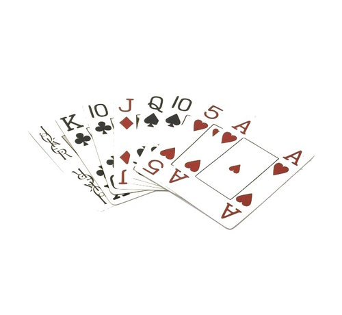 Longfield Speelkaarten met grote symbolen