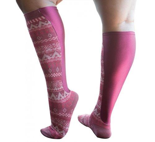 Xpandasox Sokken figuren fuchsia