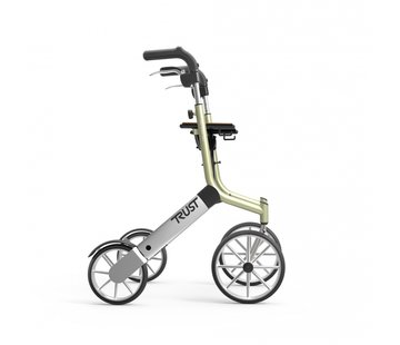 TrustCare Let's Go Out rollator                  - beige/zilver