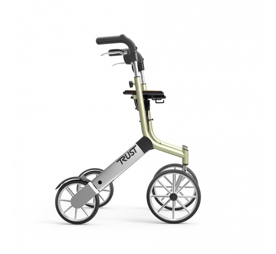 Let's Go Out rollator                  - beige/zilver