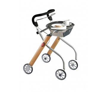 TrustCare Let's Go Indoor rollator - beuken/zilver