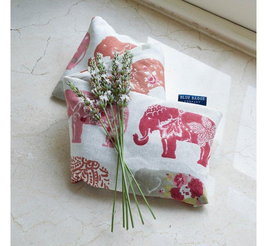 Lavendel tarwezak  - olifant Nelly