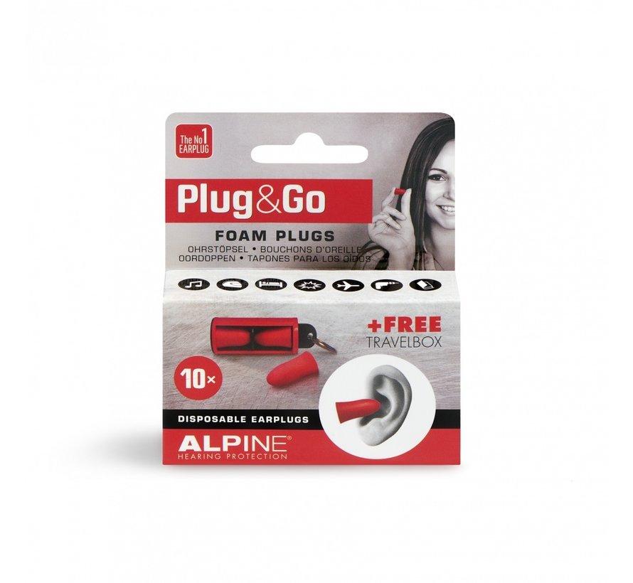 Plug & Go Oordopjes -  5 paar