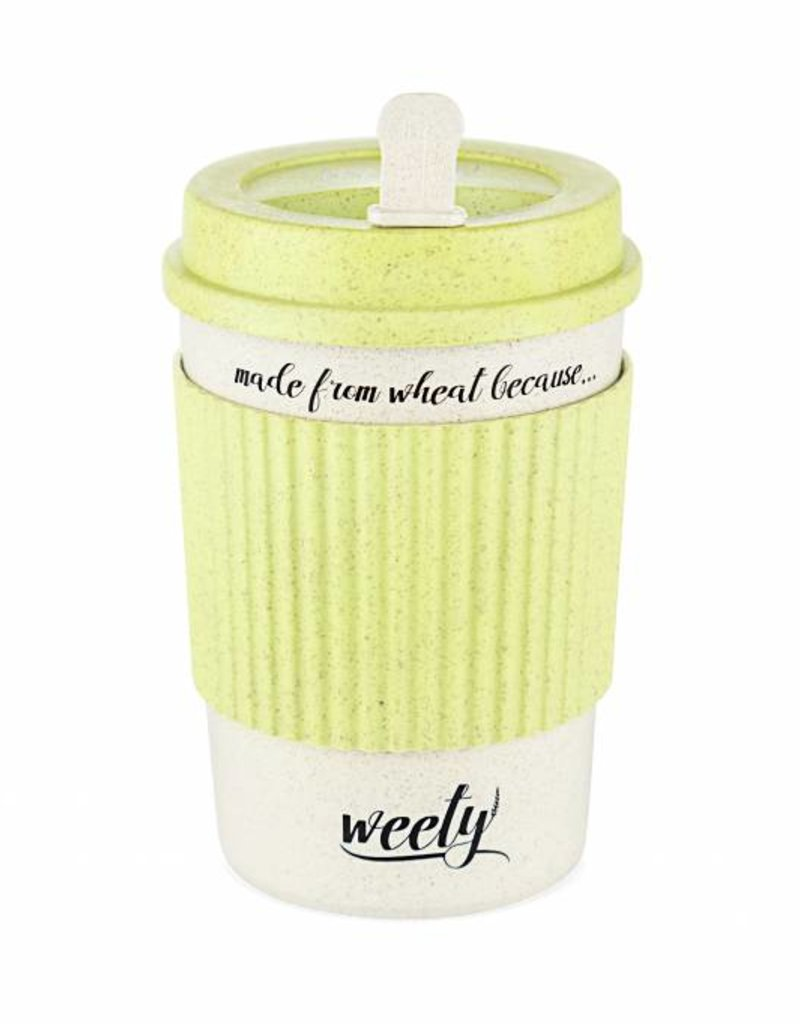 Weety To go Becher aus Weizenfasern