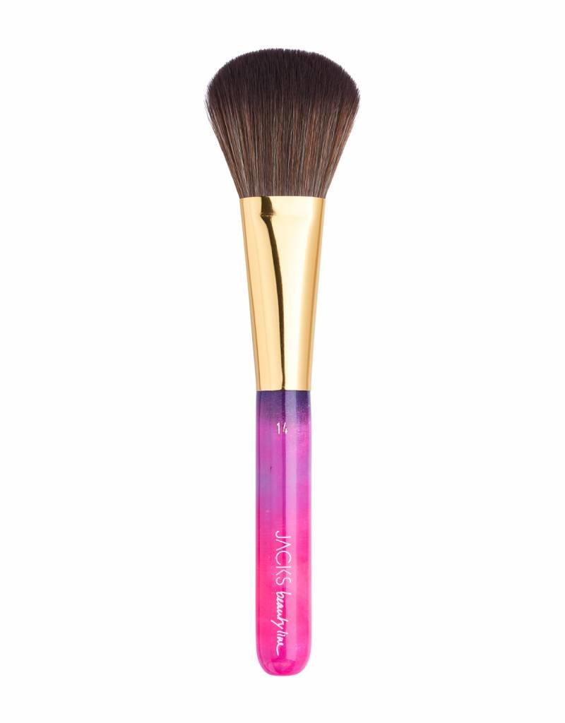 JACKS beauty line Pinsel #14 Puder- und Bronzerpinsel aus 100% veganem Haar