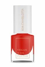 Kia Charlotta Nagellack - I Can (Klassisches Rot), 5ml