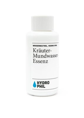 Hydrophil Kräutermundwasser Essenz