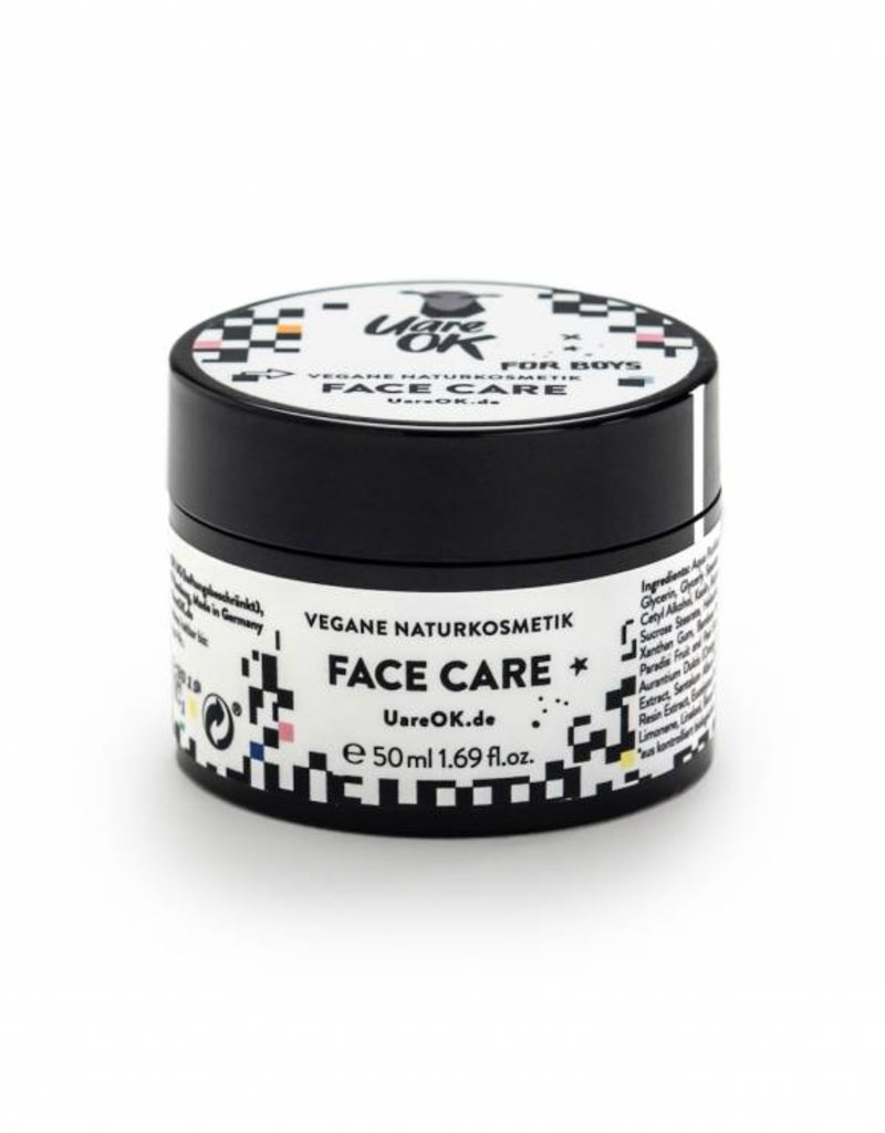 U are OK Face Care for Boys - Vegane Gesichtscreme