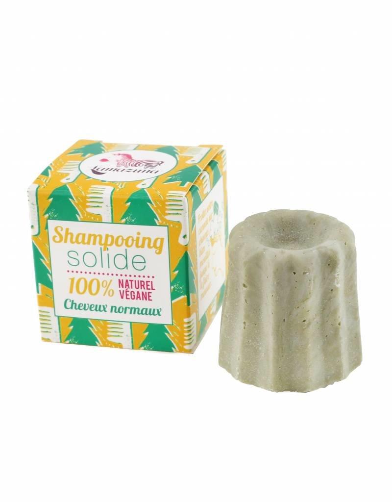 Lamazuna Festes Shampoo für normales Haar - Waldkiefer