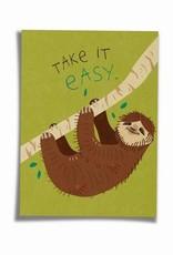 Saluti Postkarte »Easy« aus Recyclingpapier