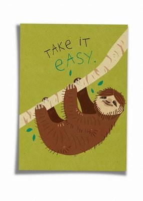 Saluti Postkarte »Easy«