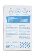 HALM Glasstrohhalme 4x20 (gerade) inkl. Reinigungsbürste