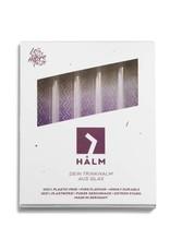 HALM Glasstrohhalm 4x 15cm (gerade)  inkl. Reinigungsbürste