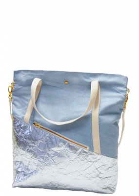 kaliber fashion Berlin Tasche (50% pinatex©) / eisblau
