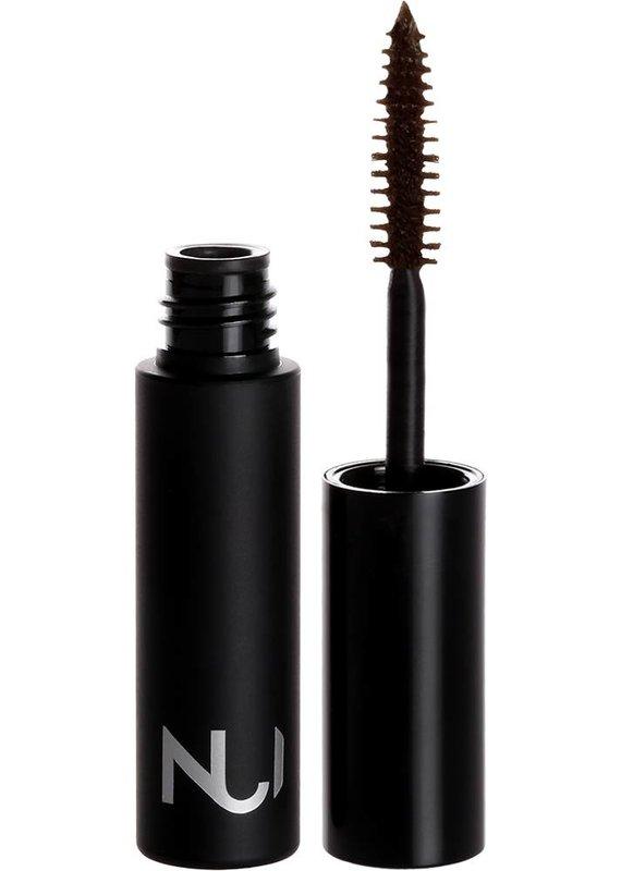 NUI Cosmetics Wimperntusche PARAURI / sattes Braun