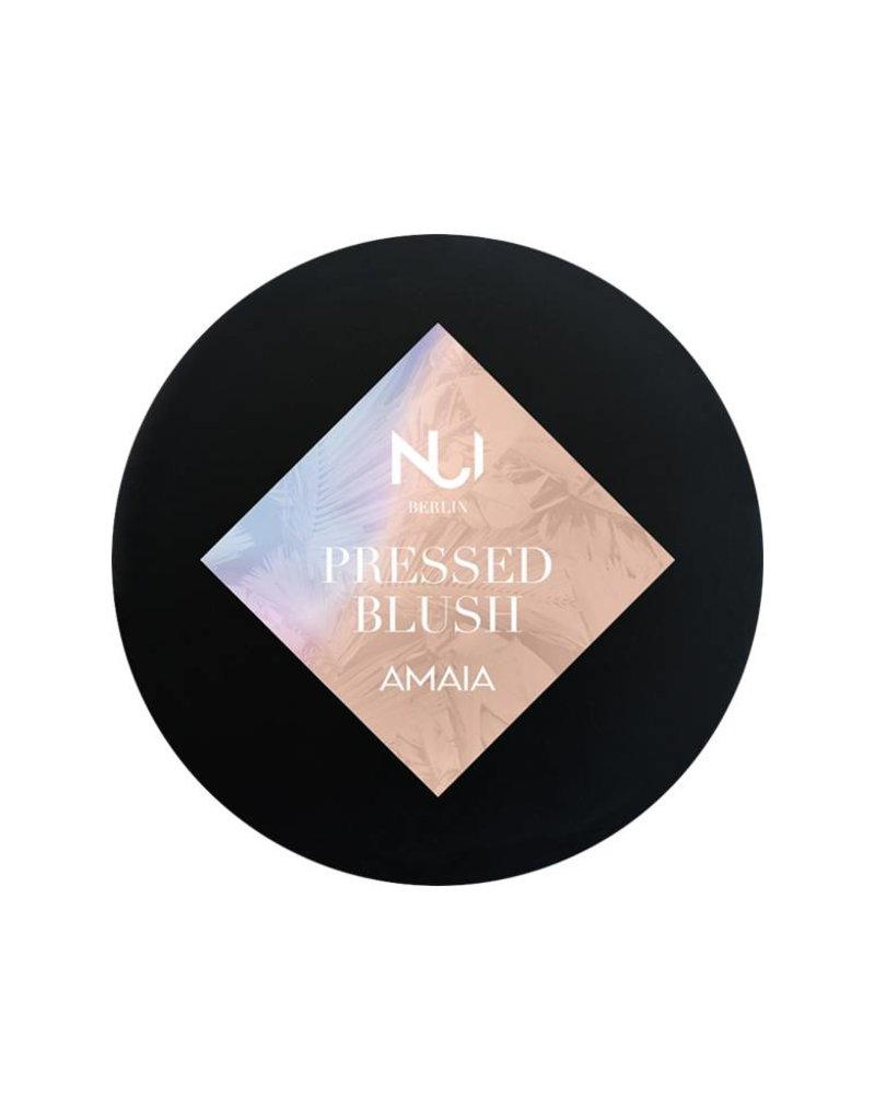 NUI Cosmetics Veganes Wangenrouge Natural Pressed Blush AMAIA