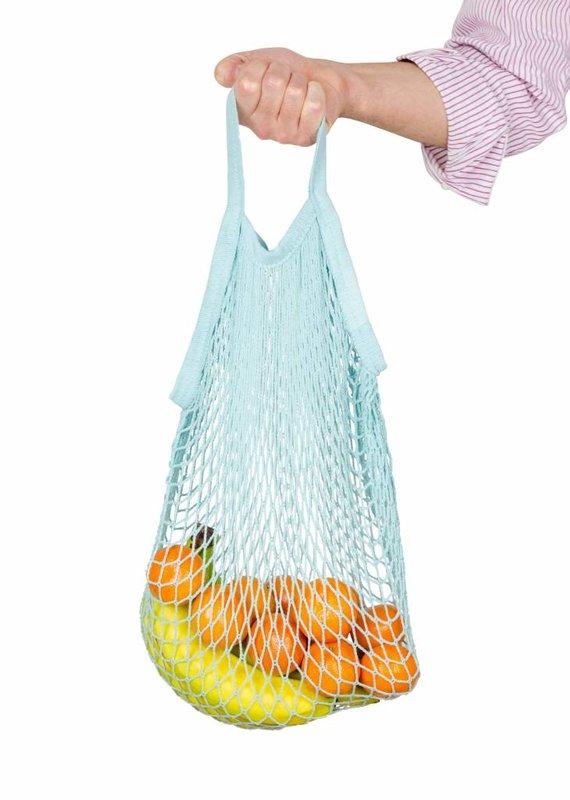 Weety Netzbeutel aus Bio-Baumwolle / blau