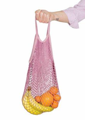 Weety Netzbeutel aus Bio-Baumwolle / pink